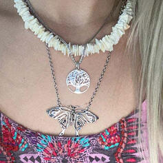 Attractive Charming Elegant Delicate Alloy With Wings Women's Ladies' Necklaces