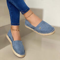 Women's Suede Sneakers With Splice Color shoes