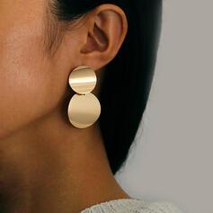 Shining Attractive Alloy Earrings 2 PCS