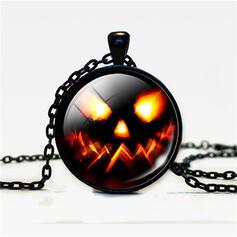 Horrifying Unique Halloween Pumpkin Alloy Glass Halloween Props