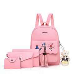 Elegant/Multi-functional/Travel/Super Convenient/Butterfly Satchel/Crossbody Bags/Shoulder Bags/Bag Sets/Backpacks/Wallets & Wristlets/Purse