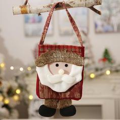 Christmas Merry Christmas Reindeer Santa Hanging Cloth Apple Bags Christmas Stocking Candy Bags