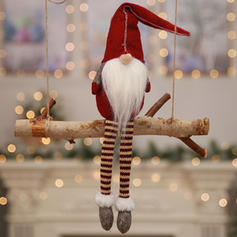 Christmas Table Merry Christmas Long Leg Non-Woven Fabric Christmas Ornements Gnome