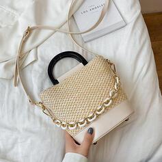 Refined/Dreamlike/Shell Shaped/Braided Tote Bags/Crossbody Bags/Shoulder Bags/Beach Bags/Bucket Bags/Hobo Bags