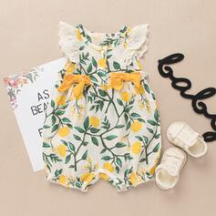 Baby Girl Floral Print Cotton Dress
