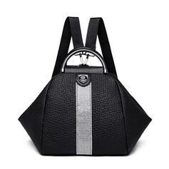 Unique/Dreamlike/Rhinestone Style/Commuting/Splice Color Shoulder Bags/Backpacks/Bucket Bags/Hobo Bags