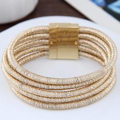 Simple Alloy Ladies' Bracelets