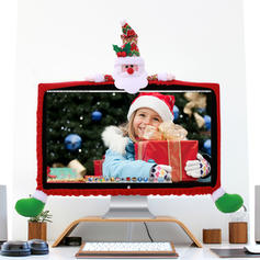 Christmas Merry Christmas Snowman Reindeer Santa Non-Woven Fabric Christmas Ornements