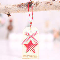 Christmas Merry Christmas Reindeer Hanging Christmas Tree Star Wooden Tree Hanging Ornaments Christmas Ornements
