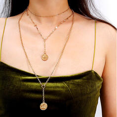 Attractive Charming Pretty Elegant Alloy With Eye Necklaces 3 PCS