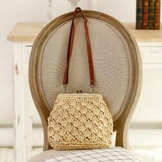 Braided Clutches/Crossbody Bags/Shoulder Bags/Beach Bags