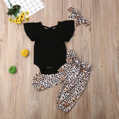 3-pieces Baby Girl Print Cotton Set
