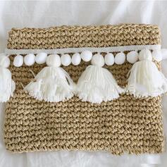 Fashionable/Vintga/Braided Tote Bags/Beach Bags