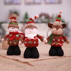 Christmas Merry Christmas Snowman Reindeer Santa Non-Woven Fabric Apple Bags