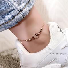 Simple Hottest Titanium Steel Anklets