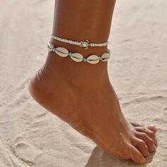Stylish Shell Shaped Alloy With Tortoise Beach Jewelry Anklets