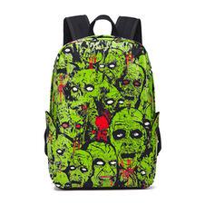 Attractive/Halloween/Skull/Horrifying/Blood/Luminous Backpacks