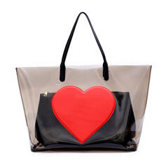 Unique/Charming/Transparent/Bohemian Style/Halloween/Heart Tote Bags/Shoulder Bags/Beach Bags/Bucket Bags