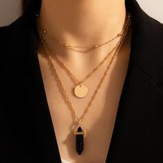 Fashionable Vintage Boho Alloy Women's Ladies' Unisex Necklaces