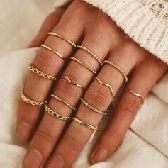 Stylish Alloy Jewelry Sets Rings