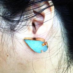 Lovely Stylish Animal Alloy With Resin Women's Ladies' Unisex Girl's Earrings