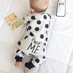 Baby Polka Dot Cotton One-piece