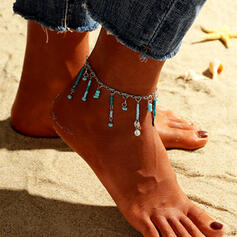 Exotic Boho Resin With Resin Anklets