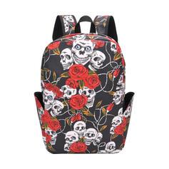 Floral/Super Convenient/Halloween/Skull/Horrifying Backpacks