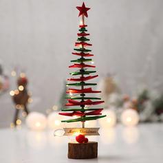 Christmas Merry Christmas Tabletop Non-Woven Fabric Christmas Tree