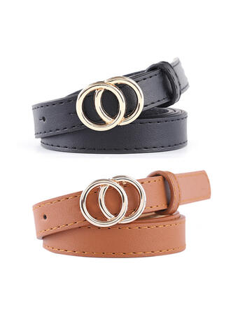 Unique Stylish Attractive Charming Elegant Delicate Leatherette Women's Belts 1 PC