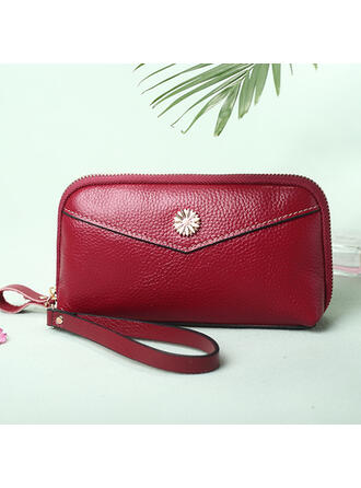 Fashionable/Solid Color Wallets & Wristlets