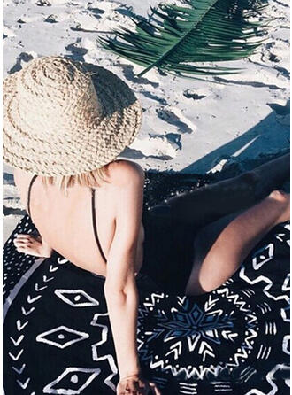 Retro/Vintage/Tassel/Bohemia/Dreamcatcher/Geometric round/Boho/Multi-functional/Sand Free/Quick Dry Beach Towel