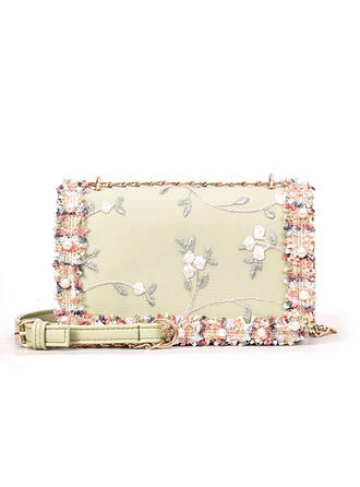 Elegant/Vintga/Bohemian Style/Floral Tote Bags/Crossbody Bags/Shoulder Bags/Bridal Purse