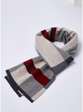 Plaid attractive/Comfortable/Skin-Friendly Scarf