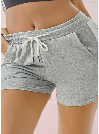 Above Knee Casual Sporty Shorts