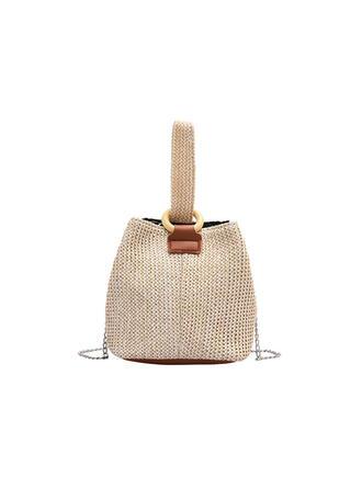 Delicate/Dumpling Shaped/Commuting/Bohemian Style/Braided Tote Bags/Shoulder Bags