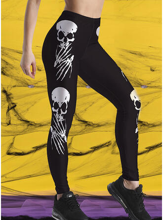 Print Halloween Long Sexy Sporty Yoga Leggings