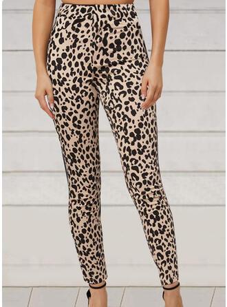 Leopard Long Casual Leggings