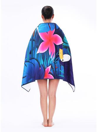 Floral/Retro/Vintage/Bohemia/Leaves/Animal Print fashion/Multi-functional/Sand Free/Quick Dry Beach Towel