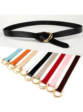 Unique Beautiful Fashionable Exquisite Stylish Vintage Classic Leatherette Women's Belts 1 PC