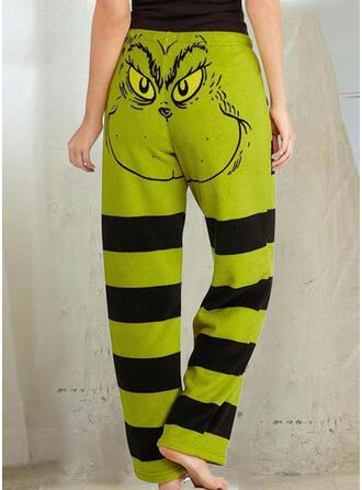 Print Halloween Casual Sporty Pants