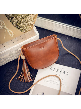 Dreamlike/Shell Shaped/Solid Color/Bohemian Style Crossbody Bags/Shoulder Bags