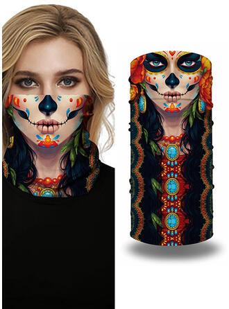 Breathable/Protective/Full Coverage/Multi-functional/Seamless/Dust Proof/Skull Print Bandanas