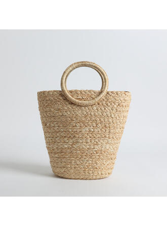 Charming/Dreamlike/Commuting/Bohemian Style/Braided Tote Bags/Beach Bags/Bucket Bags