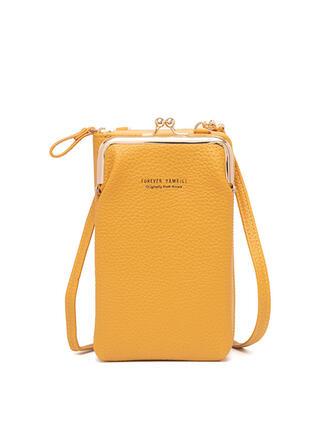 Lichee Pattern/Commuting/Multi-functional/Simple/Super Convenient Shoulder Bags/Wallets & Wristlets