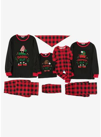 Plaid Print Christmas Pajamas