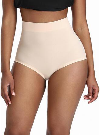 Polyester Cotton Nylon Chinlon Plain Shapewear