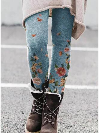 Print Plus Size Sexy Vintage Leggings