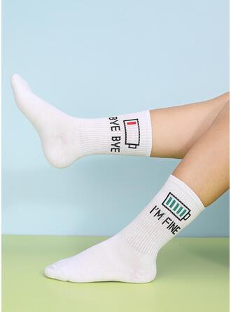Crochet Crew Socks Socks