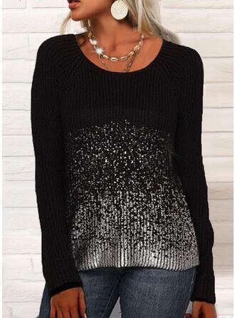PolkaDot Round Neck Sweaters